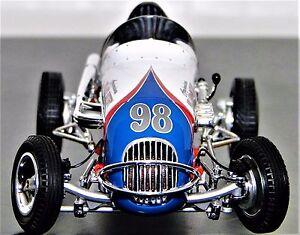 Racer Rare 1950s Vintage Race Car Sport Gp F1 Indy 500 Ford Midget