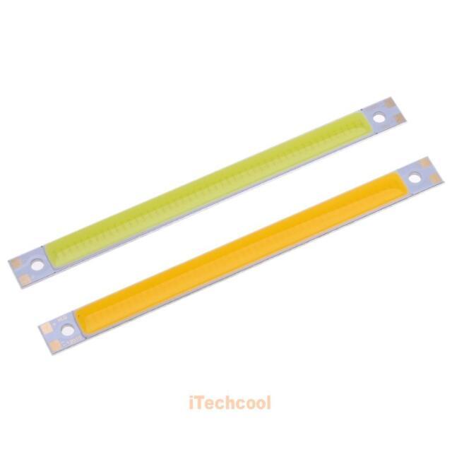 12V 10W 300LM LED Strip Panel COB Chip Light Lamp 120x10mm White/Warm White DIY