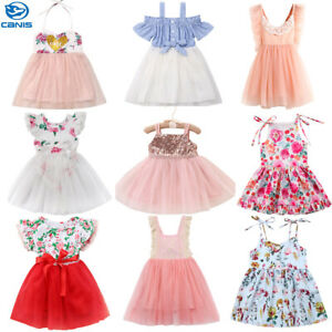 6dcde9211856 Image is loading Toddler-Kid-Baby-Girl-Wedding-Birthday-Princess-Party-