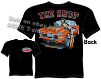 55 Chevy T Shirt 1955 Chevrolet Gasser Tee Vintage Drag Racing Clothing Pin Up