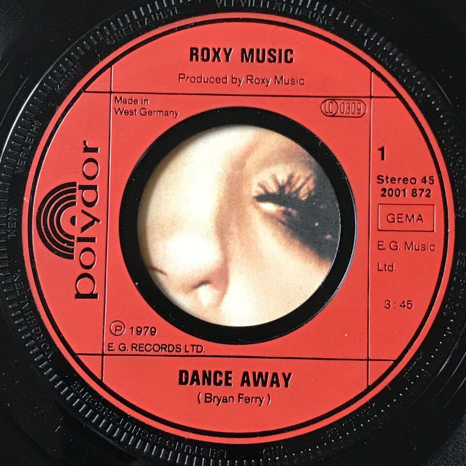 Single, Roxy Music, Dance Away/Cry Cry Cry