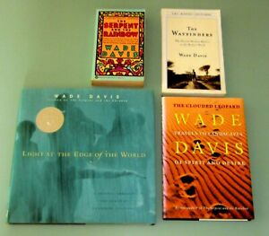 4-Books-WADE-DAVIS-CLOUDED-LEOPARD-HAITIAN-VOODOO-ZOMBIS-PSYCHEDELIC-SHAMANS