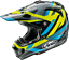 thumbnail 1 - Arai MX-V MACHINE MXV Motocross Offroad MX Race Helmet Black Yellow Blue Adults