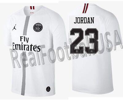 Jordan Michael Jordan Psg Paris Saint Germain Ucl Away Jersey 2018 19 Ebay