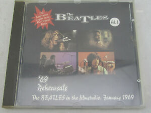 RARE-The-Beatles-039-69-Rehearsals-Vol-1-by-The-Beatles-CD-Import-Blue-Kangaroo