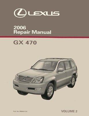 Parts & Accessories Car & Truck Manuals 2006 Lexus RX 400h Shop ...