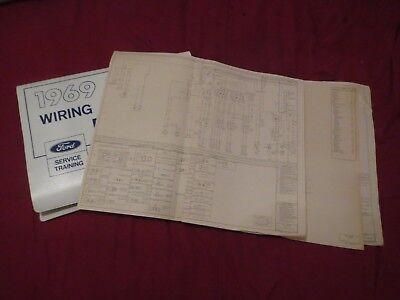 1969 Lincoln Mark Iii Wiring Diagrams Schematics Manual Sheets Set Oem Ebay