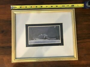 """On Allert artist RARE """"Silent Night"""" by John D. Furches personal collection"""