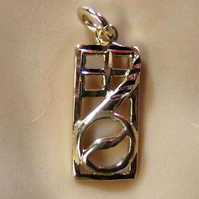 9ct gold new charles rennie mackintosh pendant