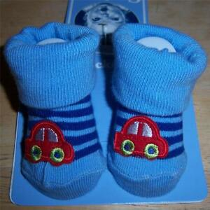 9cc6cacf94f Image is loading New-Gerber-Bootie-Socks-Baby-Shower-Car-0-