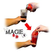Verre à transformation de soda en foulard - Tour de magie