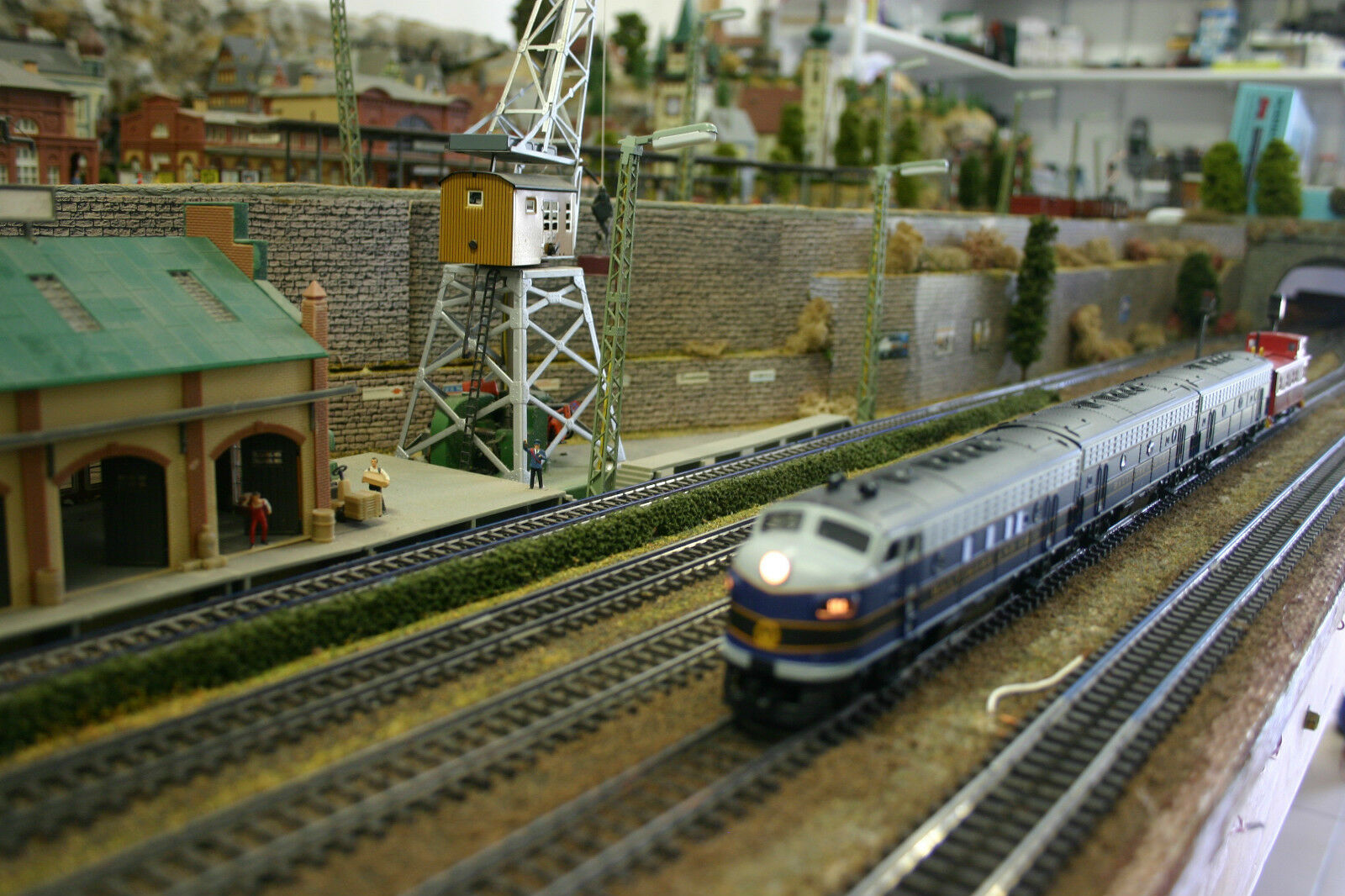 Train Locomotive Steam Electric