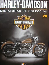 FASCICULE 28 MOTO COLECCION HARLEY DAVIDSON MODEL K 1952