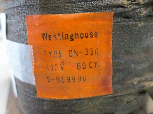 New DN330 #S-919996 440V 60 Hz Westinghouse Coil Type