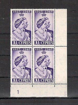 Zypern Michelnummer 157 Viererblock Postfrisch europa:2692 Briefmarken Europa