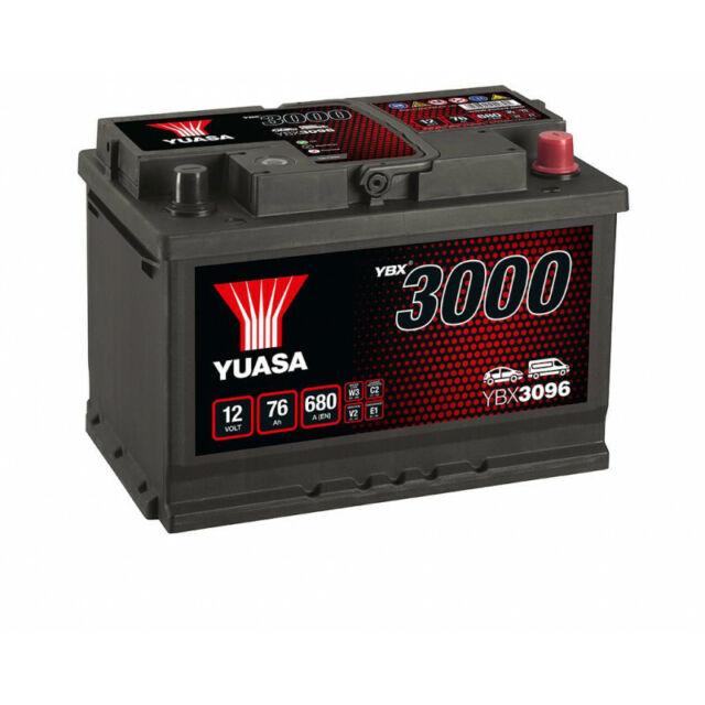 Batterie Yuasa SMF YBX3096 12V 76ah 680A