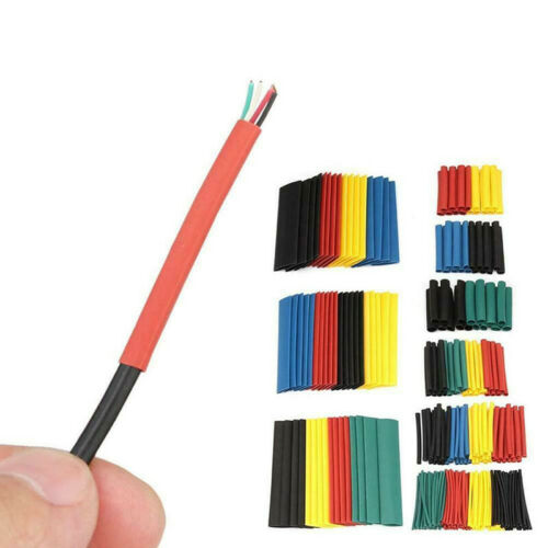 560pcs Heat Shrink Tube Assorted Insulation Shrinkable Tube 2:1 Wire CRSJF