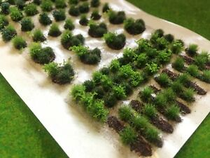 Attribution Des Cultures Set 01 Vert Patch-static Grass Tufts Modèle Paysage Ferme Champ-afficher Le Titre D'origine