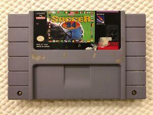Championship-Soccer-94-Super-Nintendo-SNES-Authentic