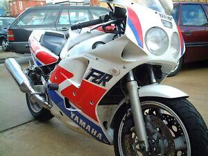 R-amp-G-Black-Classic-Style-Crash-Protectors-for-Yamaha-FZR-1000-1988
