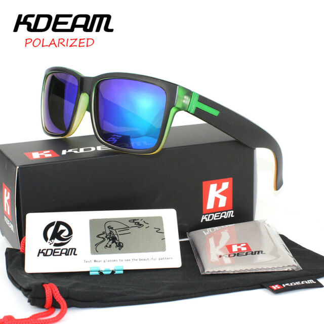 eb67b44a12 Fashion Guy s Sun Glasses From Kdeam Polarized Sunglasses Men Classic Design  All