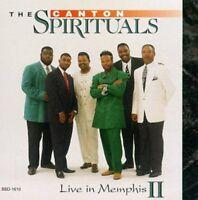 The Canton Spirituals - Live In Memphis 2 [new Cd]