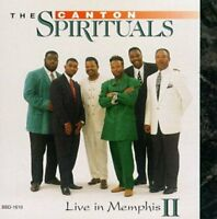 The Canton Spirituals - Live In Memphis 2 [new Cd]