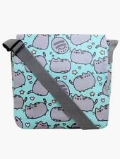 Pusheen Hearts & Stars Facebook Cat Messenger School Book Bag NWT!