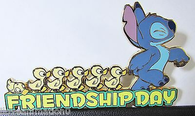 Disney Auctions  Friendship Day Stitch LE 100 Pin