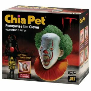 Screaming-Pennywise-Chia-Pet-Plant-Bust-Movie-It-Clown-Scary-Stephen-King-Gift