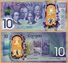 Canada 2017 UNC 10 Dollars Polymer Commemorative Issue Money Bill P- NEW