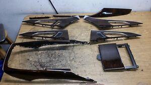 13-16-Audi-A6-S6-Door-Panel-Dash-Center-Console-Wood-Trim-Used-Factory-OEM