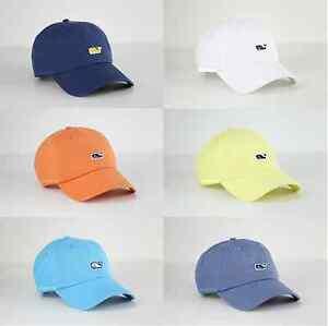 Vineyard Vines Whale Logo Golf Baseball Cap Hat One Size For Men ... 3c494995c389