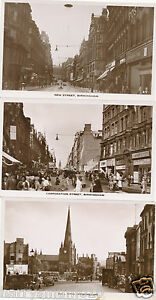 Postcard-x-3-Birmingham-L-W-Lewis-new-corporation-street-bull-ring-7