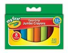 Crayola My First 8 Crayons Jumbo Easy Grip Toddler Stationery Art Pre-schoolers
