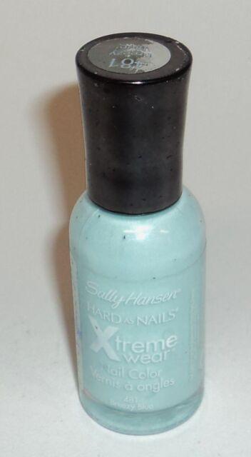 Sally Hansen Hard As Nails Xtreme Wear Unghie Colore Smalto Breezy Blu 481
