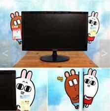 Monitor Memo Pads Board Sticky Note Holder Side Panel Korean Rabbit Bear Cute