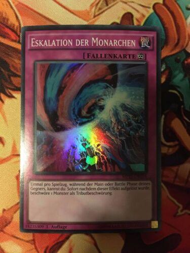 ESCALATION OF THE MONARCHS GERMAN SUPER RARE MP15-EN054 DE054 NEAR MINT YUGIOH