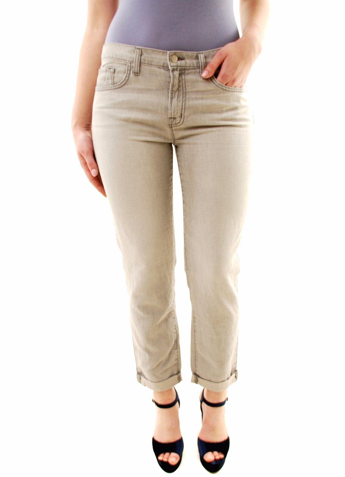 J Brand Women's Aidan Boyfriend Constellat Jeans Grey Size 27 RRP  227 BCF71
