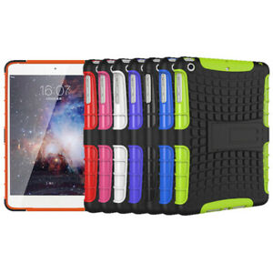 For-iPad-9-7-034-Air-5-6th-Mini-1234-Rubber-Military-Hard-Stand-Back-Skin-Case-Cover