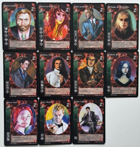 Toreador Crypt Lot G5 11x Vampires Keepers of Tradition V:TES VTES