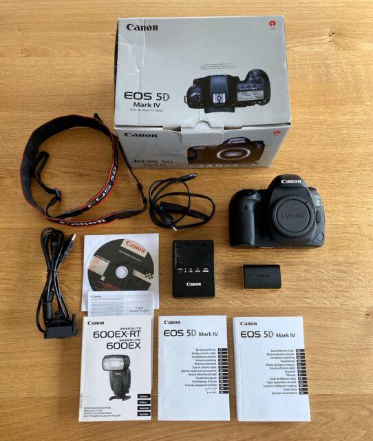 Canon EOS 5d Mark IV appareil photo Camera Body 30.4mp fonctionne parfaitement!