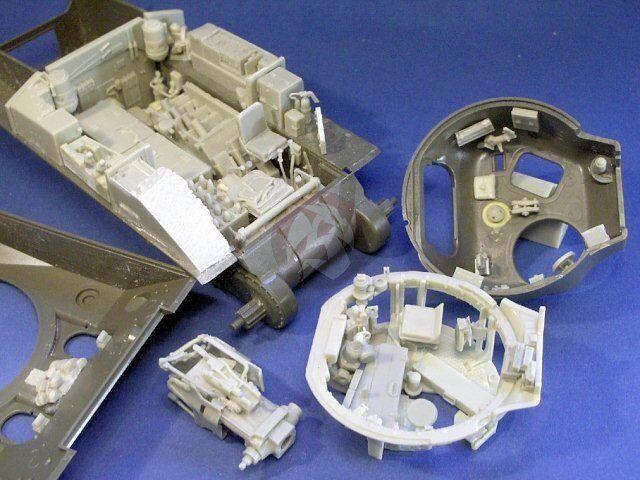 Resicat 1   35 British m4a4 Sherman VC Field Field Field tank Internal kits (tasca) 351268 ad9