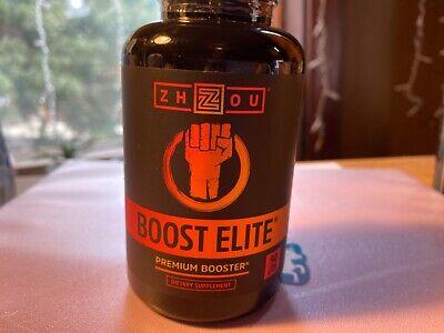 Zhou Nutrition Boost Elite Premium Booster - Male Stamina & Energy - 90 Capsules eBay