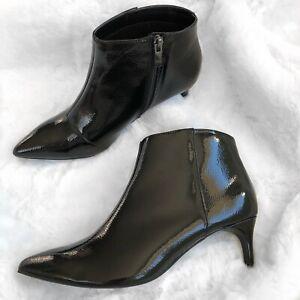 1 inch black booties