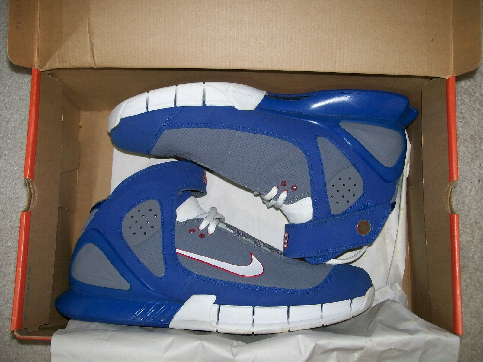 Rare SZ12 Nike Air Zoom Huarache 2K5 All Star bluee Grey 310850-011 Kobe 1 Predro