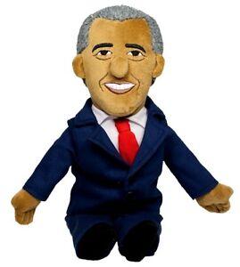 "OBAMA Barack 11"" doll toy Little Thinker plush President NWT new"