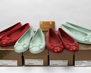 ccca0ef9d Women's GUCCI Rubber Ballet Horse-bit Flats Summer Shoes 36 37 39 40 ...