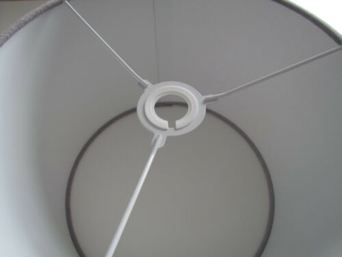 ** SALE **  25 cm Light Grey Velvet Lampshade Light Shade