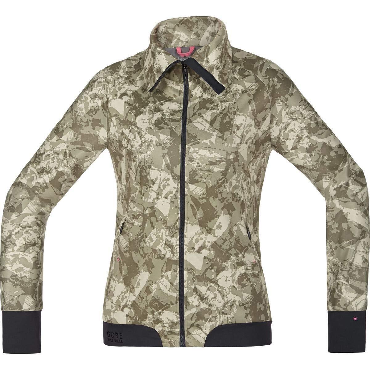 Gore Bike Wear Mujer potencia Trail impresión Cortavientos chaqueta de cáscara suave 40 Nuevo +